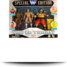 Wwf Special Edition Triple Threat Collectors