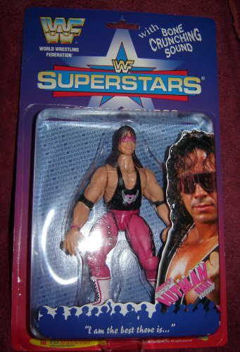 Wwf Bret Hart Wrestling Figure By Wwe